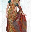 Indian Bollywood Designer Saree Embroidered Sari - Tu6730