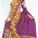 Indian Bollywood Designer Saree Embroidered Sari - Tu6718