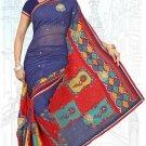 Indian Bollywood Designer Saree Embroidered Sari - TU6707