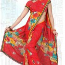 Indian Bollywood Designer Saree Embroidered Sari - Tu6659