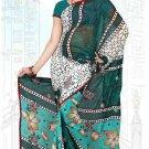 Indian Bollywood Designer Saree Embroidered Sari - Tu6649
