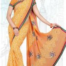 Indian Bollywood Designer Saree Embroidered Sari - Tu6645
