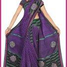 Indian Bollywood Designer Saree Embroidered Sari - TU6616
