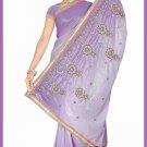 Indian Bollywood Designer Saree Embroidered Sari - TU6232