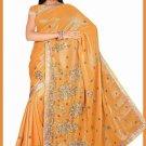 Indian Bollywood Designer Saree Embroidered Sari - TU6225