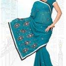 Indian Bollywood Designer Saree Embroidered Sari - TU6219