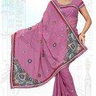 Indian Bollywood Designer Saree Embroidered Sari - TU6214