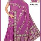 Indian Bollywood Designer Saree Embroidered Sari - TU6191