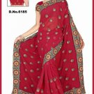 Indian Bollywood Designer Saree Embroidered Sari - TU6185