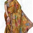 Indian Bollywood Designer Saree Embroidered Sari - TU6144