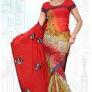 Indian Bollywood Designer Saree Embroidered Sari - Tu6728
