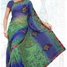 Indian Bollywood Designer Saree Embroidered Sari - Tu6724