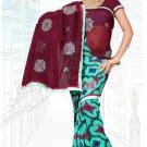 Indian Bollywood Designer Saree Embroidered Sari - Tu6721