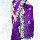 Indian Bollywood Designer Saree Embroidered Sari - Tu6712