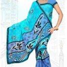 Indian Bollywood Designer Saree Embroidered Sari - Tu6710