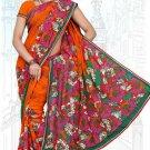 Indian Bollywood Designer Saree Embroidered Sari - Tu6651