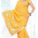 Indian Bollywood Designer Saree Embroidered Sari - TU6249