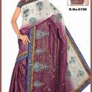 Indian Bollywood Designer Saree Embroidered Sari - TU6198