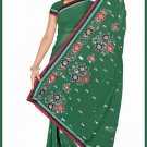 Indian Bollywood Designer Saree Embroidered Sari - TU6197
