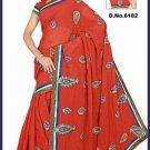 Indian Bollywood Designer Saree Embroidered Sari - TU6182