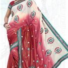 Indian Bollywood Designer Saree Embroidered Sari - TU6142