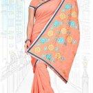 Indian Bollywood Designer Saree Embroidered Sari - TU5984
