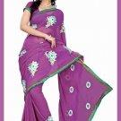 Indian Bollywood Designer Saree Embroidered Sari - TU5987