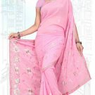 Indian Bollywood Designer Saree Embroidered Sari - TU5979
