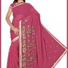 Indian Bollywood Designer Saree Embroidered Sari - TU5965