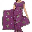 Indian Bollywood Designer Saree Embroidered Sari - TU5893B