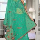 Indian Bollywood Designer Saree Embroidered Sari - TU5875