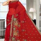 Indian Bollywood Designer Saree Embroidered Sari - TU5874