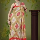 Indian Bollywood Designer Saree Embroidered Sari - TU555 -1