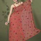 Indian Bollywood Designer Saree Embroidered Sari - TU497 -1