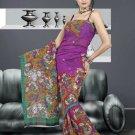 Indian Bollywood Designer Saree Embroidered Sari - TU496 -1