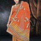 Indian Bollywood Designer Saree Embroidered Sari - TU487 -1