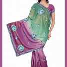Indian Bollywood Designer Saree Embroidered Sari - TU5974