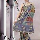 Indian Bollywood Designer Saree Embroidered Sari - TU597 -1