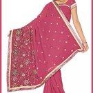 Indian Bollywood Designer Saree Embroidered Sari - TU5963