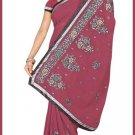 Indian Bollywood Designer Saree Embroidered Sari - TU5935