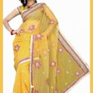 Indian Bollywood Designer Saree Embroidered Sari - TU5911