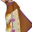 Indian Bollywood Designer Saree Embroidered Sari - TU5895A