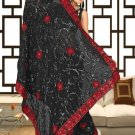 Indian Bollywood Designer Saree Embroidered Sari - TU5866