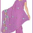 Indian Bollywood Designer Saree Embroidered Sari - TU5955