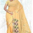 Indian Bollywood Designer Saree Embroidered Sari - TU5924