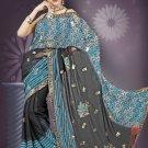 Indian Bollywood Designer Saree Embroidered Sari - TU565 -1