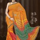 Indian Bollywood Designer Saree Embroidered Sari - TU511 -1