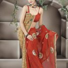 Indian Bollywood Designer Saree Embroidered Sari - TU462 -1