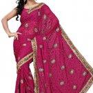 Indian Bollywood Designer Saree Embroidered Sari - TU105D