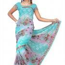 Indian Bollywood Designer Saree Embroidered Sari - TU443